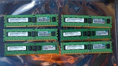 Micron 12GB (6x2GB) 2RX8 PC3-10600R DDR3 1333MHZ ECC Reg Server/Workstation Kit