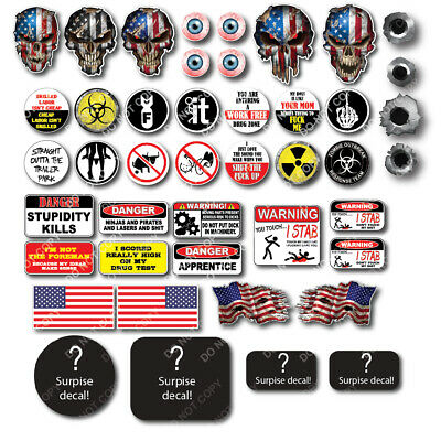 28 3M Funny Hard Hat Helmet Sticker Electrician Union Decal Construction Toolbox