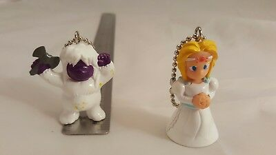 Final Fantasy VI Set of 2 Keychains CELES CHERE as Maria Opera and UMARO FF6