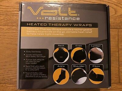 Volt Resistance Heated Therapy Wrap ELBOW Warmer Heating Pad