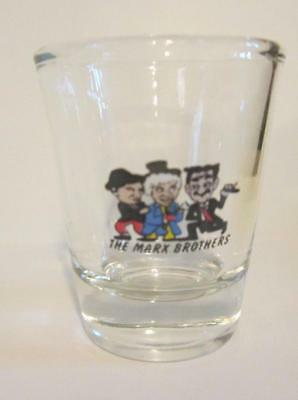 Very Nice The Marx Brothers  1  1/2 oz. Shot Glass