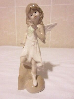 Porcelain Figure Handcrafted  Fairy.