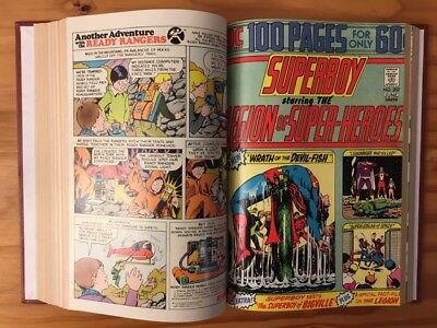 Superboy issues 193 to 205 Bound Edition Featuring the Legion of Superheroes.