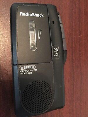 RadioShack Microcassette Recorder 2-Speed
