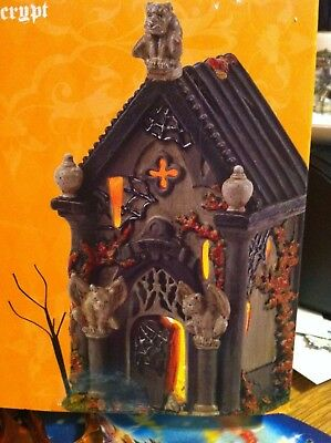 Dept 56 Halloween Haunted Crypt Light Piece in Box from 2015