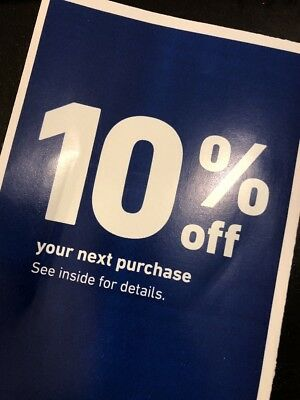 One 1x Lowes 10% OFF 1Coupons- InStore and Online -Email-Delivery Exp 2/2019