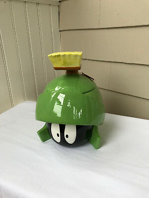 Rare Marvin the Martian Six Flags Cookie Jar (1995) with Original Box