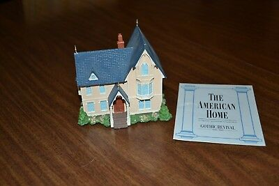Franklin Mint The American Home Authentic Miniature Collection Gothic Revival