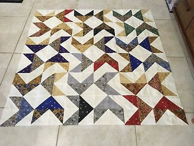Unfinished Quilt Top 50 Inches Squared
