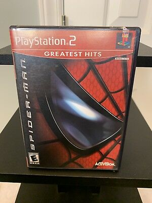 *Complete* Spider-Man 2 Greatest Hits (Sony PlayStation 2, 2005) Fast Shipping