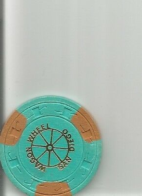 $100 wagon wheel obsolete casino chips california