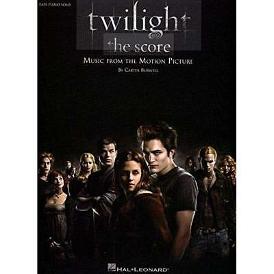 Twilight - the Score: Easy Piano Solo Burwell, Carter (Composer)