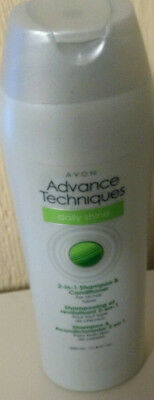 AVON Advance Techniques DAILY SHINE 2-in-1 Shampoo & Conditioner all Hair Types