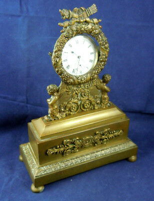 Antique Ormolu Pocket Watch Stand French Empire Style