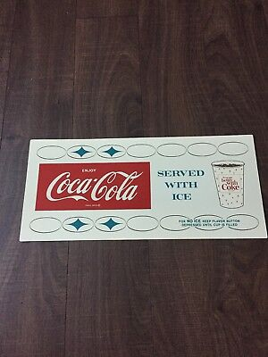 "Pack of 4 FREE SHIPPING Coca-Cola /""Things go Better/"" Placemats"