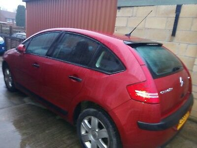 Red Citroen C4  Petrol Car Mot Until November 2019
