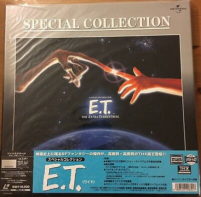 Laserdisc E.T. Special Collection Box Japanese With OBI.