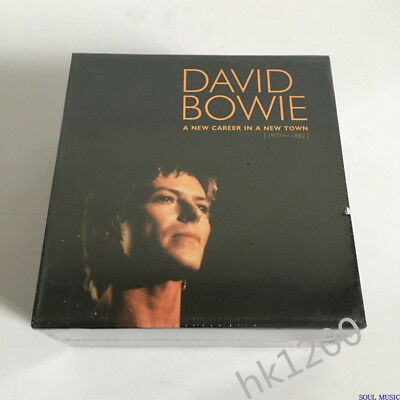 2019 New David Bowie 1977-1982A New Career In A New Town 11CD Set Collection