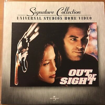 Laserdisc Out Of Sight Signature Collection.