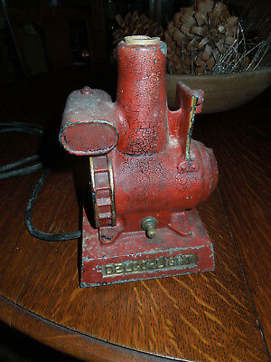 Delco Light Power Plant Electric Table Light Salesman Advertising Gas Engine