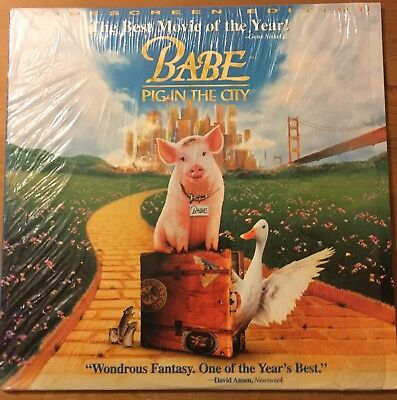 Laserdisc Babe Pig In The City 1999 Late Release