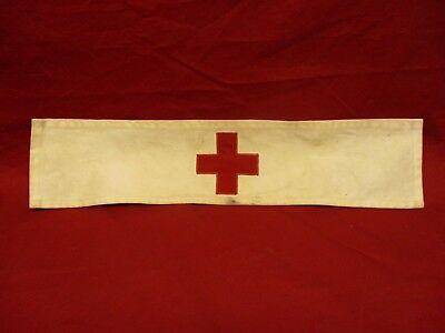 Chaplain Or Medic Red Cross Arm Band