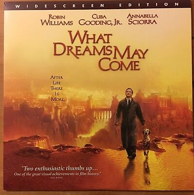 Laserdisc What Dreams May Come 1999 late release. U.S.