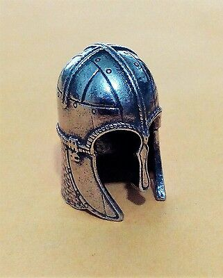 York Coppergate Helmet Thimble In Finest English Pewter