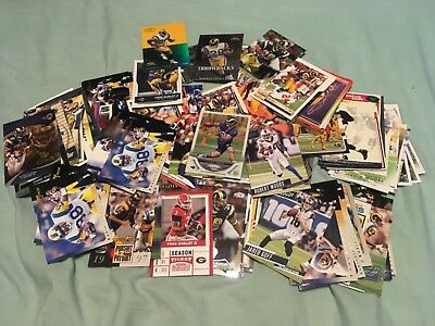 Los Angeles Rams football card lot - 80 cards (St Louis) (1970-2019) As-Is