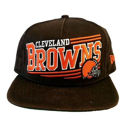 uk availability 7308a 156af ... clearance cleveland browns brown hatnew era9fiftynfladjustable snapback  baseball hat b0926 81d33