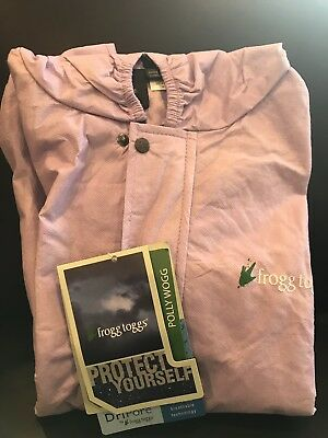 Frogg Toggs Polly Woggs Kids Suit (top Only) Size M Lavender