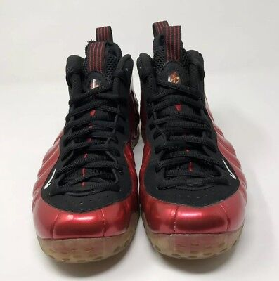 "c739d22791ff4 2012 Nike Air Foamposite One ""Metallic Red"" Size 8.5 BLACK VARSITY 314996  610"