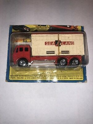 Vintage Matchbox 1976 Lesney , No. 42 Container Truck