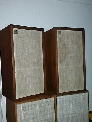 AR4X ACOUSTIC RESEARCH EARLY PLYWOOD Pair Excellent