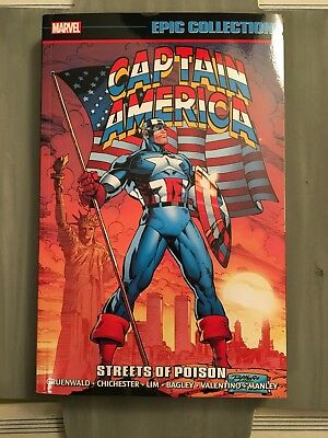 Captain America: Streets Of Poison - Epic Collection Softcover Graphic Novel
