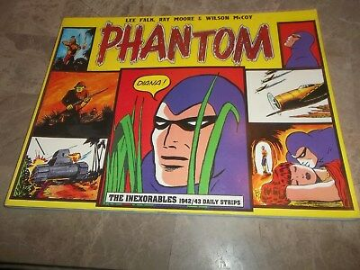 The Phantom - The Inexorables  1942/43 Daily Strips - Lee Falk First Edition