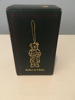 Boyd's Bears Exclusive 2005 Bailey in China Resin Ornament. Rare