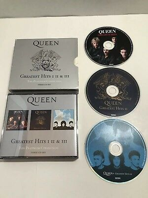 Greatest Hits: I II & III: The Platinum Collection Box by Queen CD 2002 USED