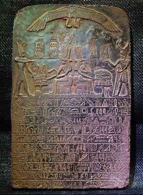 Egyptian Antiques Antiquities Queen Tetisheri Stela Stele Relief 1581-1551 Bc