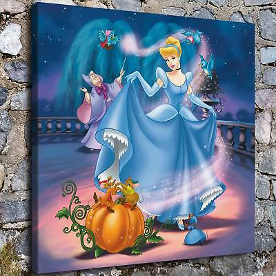 """12""""x12"""" Disney HD Canvas print Painting Home Decor Picture Room Wall art Poster"""