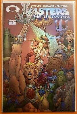 Masters Of The Universe #1 Retailer Foil Cover (Image/ 2003/ Volume 2)