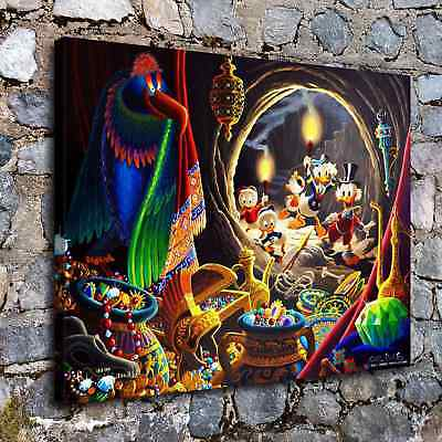 Disney HD Canvas prints Painting Home Decor Picture Room Wall art Poster H2045