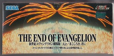 Neon Genesis Evangelion Wide Size Trading Card The End of Evangelion Sealed Box