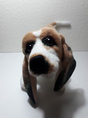 Basset Hound Fabulous Plush Dog Great Head  & Ears 17""