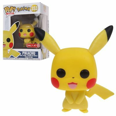 4'' Funko Pop Games Pikachu #353 Target Exclusive Vinyl Figure Toy New with Box
