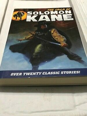 SAGA OF SOLOMON KANE DARK HORSE 2009 very fine