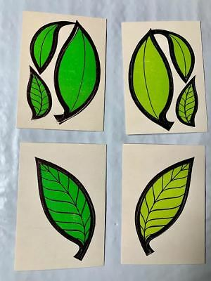 Lot Of 4 - 1968 Donruss Leaf Stickers In Near Perfect  Condition