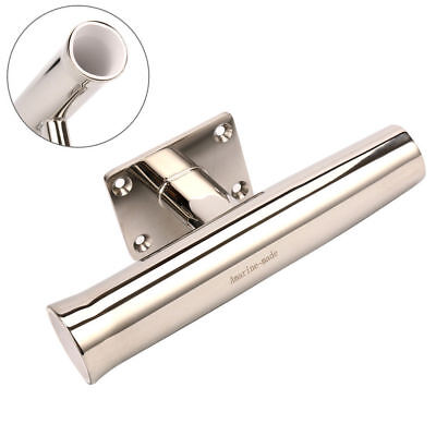Stainless Tournament Style Wall Transom Rod Holder Mounted 90 Degree-5679S