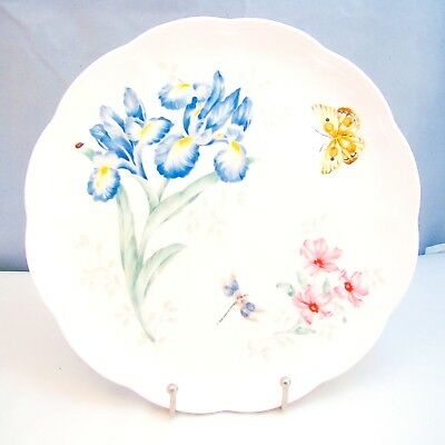 "Lenox BUTTERFLY MEADOW Dinner Plate ""Orange Sulphur"" EXCELLENT"