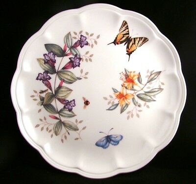 "Lenox BUTTERFLY MEADOW Dinner Plate ""Swallowtail"" EXCELLENT"